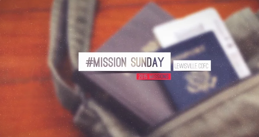 Mission Sunday 2015